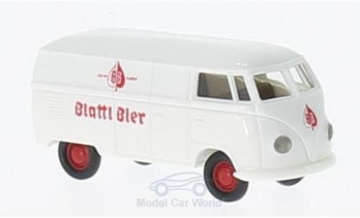 Volkswagen T1 B 1/87 Brekina a Blattl Bier Kasten miniatura