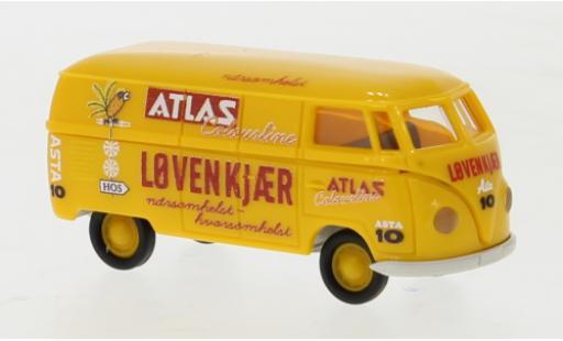 Volkswagen T1 1/87 Brekina a Kasten Atlas Lovenkjaer 1950 diecast model cars