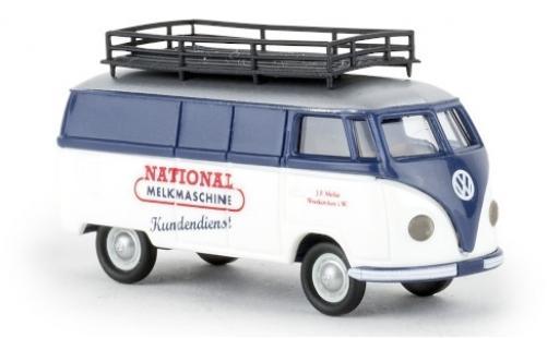 Volkswagen T1 1/87 Brekina a Kasten National Melkmaschine 1951 diecast