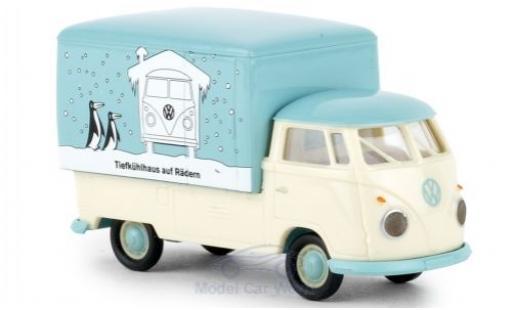 Volkswagen T1 1/87 Brekina b Großraum-Koffer Kühlhaus 1960 miniature