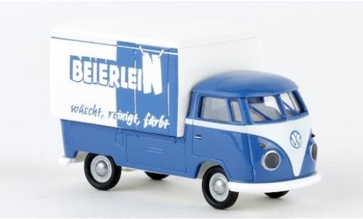 Volkswagen T1 1/87 Brekina b Großraum-Koffer Wäscherei Beierlein 1960 miniature