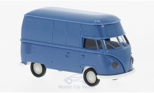 Volkswagen T1 B 1/87 Brekina b Hochdach-Kasten bleue miniature