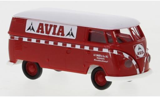 Volkswagen T1 1/87 Brekina b Kasten Avia 1960 diecast model cars