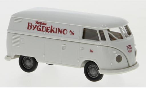 Volkswagen T1 1/87 Brekina b Kasten Bygdekino 1960 diecast model cars