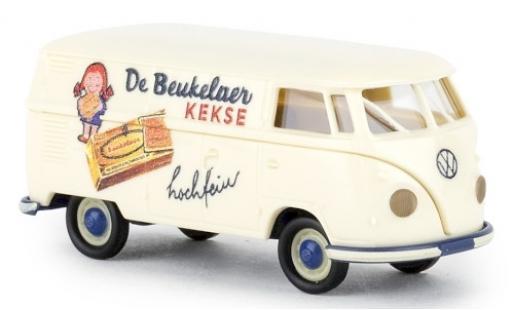 Volkswagen T1 1/87 Brekina b Kasten de Beukelaer 1960 miniatura