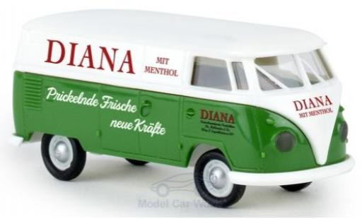 Volkswagen T1 B 1/87 Brekina b Kasten Diana Franzbranntwein modellino in miniatura