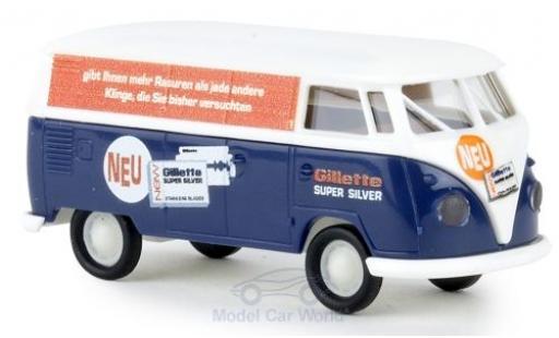 Volkswagen T1 1/87 Brekina b Kasten Gilette diecast model cars