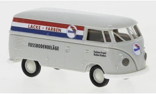 Volkswagen T1 1/87 Brekina b Kasten Glasurit 1960 diecast model cars