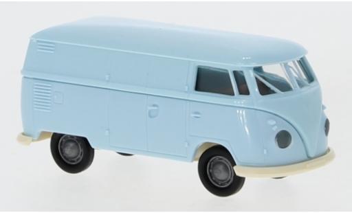 Volkswagen T1 1/87 Brekina b Kasten bleue 1960 Economy miniature