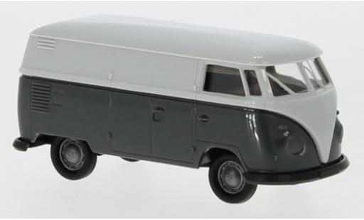 Volkswagen T1 1/87 Brekina b Kasten grise/grise 1960 Economy miniature