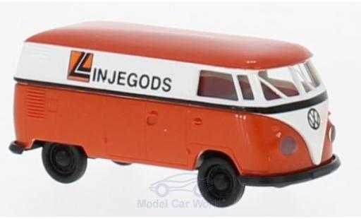 Volkswagen T1 B 1/87 Brekina b Kasten Linjegods (NO) miniature