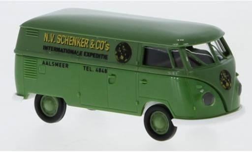 Volkswagen T1 1/87 Brekina b Kasten Schenker Aalsmeer 1960 miniature