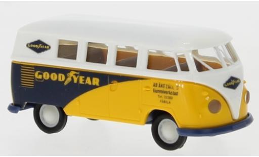 Volkswagen T1 1/87 Brekina b Kombi Goodyear 1960 miniature