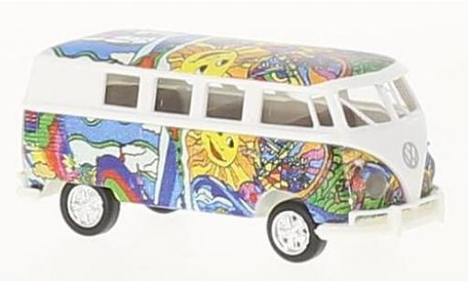 Volkswagen T1 1/87 Brekina b Kombi Hippie Bus coche miniatura
