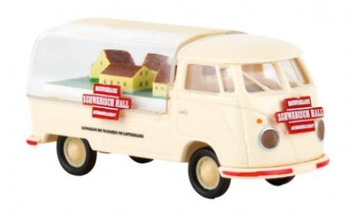 Volkswagen T1 1/87 Brekina b Präsentationswagen Schwäbisch Hall 1960 miniatura