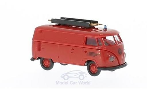 Volkswagen T1 1/87 Brekina b Werkfeuerwehr Fahr Kasten miniature
