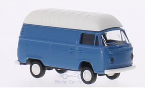 Volkswagen T2 1/87 Brekina blue/white Hochdach-Kasten diecast