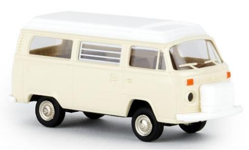 Volkswagen T2 1/87 Brekina Camper beige 1972 avec Aufstelldach coche miniatura