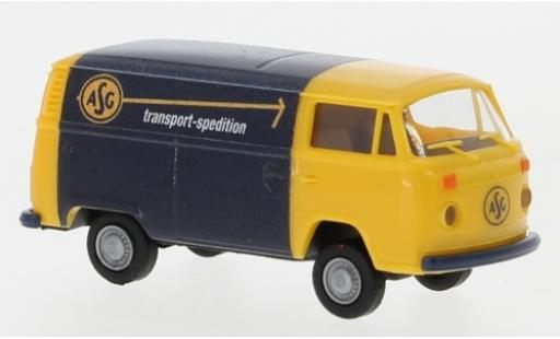 Volkswagen T2 1/87 Brekina Kasten ASG 1972 2. Version miniature