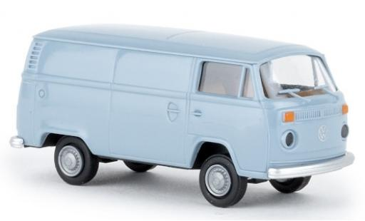 Volkswagen T2 1/87 Brekina Kasten azul 1972 coche miniatura