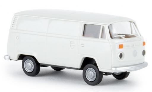 Volkswagen T2 1/87 Brekina Kasten gris 1972 coche miniatura