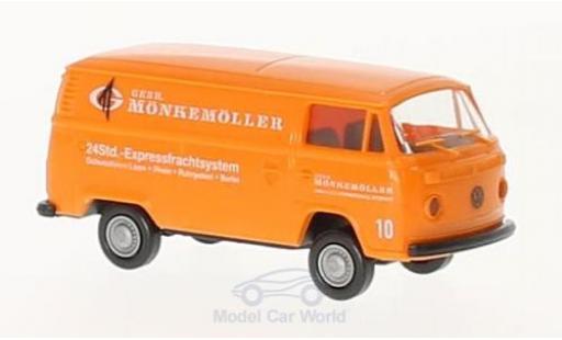 Volkswagen T2 A 1/87 Brekina Kasten Mönkemöller diecast model cars