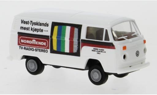 Volkswagen T2 1/87 Brekina Kasten Nordmende (NO) 1973 diecast model cars