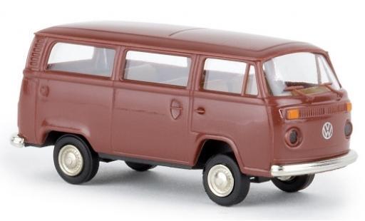 Volkswagen T2 1/87 Brekina Kombi brown 1972 diecast model cars