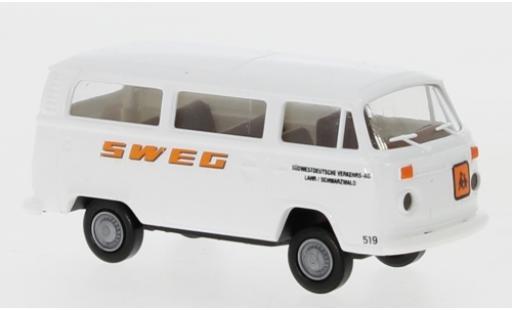 Volkswagen T2 1/87 Brekina Kombi SWEG 1972 coche miniatura
