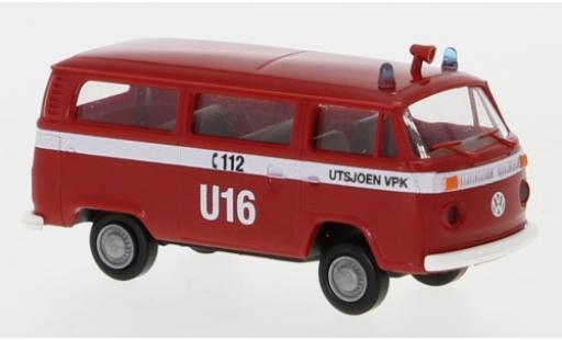 Volkswagen T2 1/87 Brekina Kombi Utsjoen VPK 1972 diecast model cars