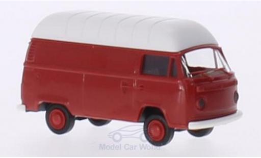 Volkswagen T2 1/87 Brekina red Hochdach-Kasten diecast