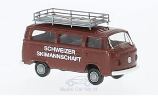 Volkswagen T2 1/87 Brekina Schweizer Skinationalmannschaft Kombi diecast