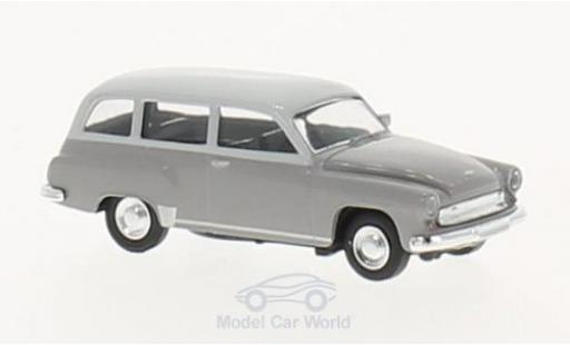 Wartburg 311 1/87 Brekina Kombi grise/grise miniature