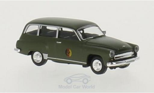 Wartburg 311 1/87 Brekina Kombi NVA miniature
