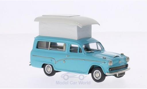 Austin A60 1/43 Brooklin Van türkis 1969 mit Zeltaufbau miniature