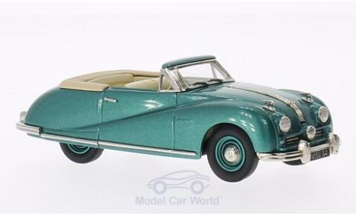 Austin A90 1/43 Brooklin Atlantic Convertible Top Down métallisé verte 1948 miniature