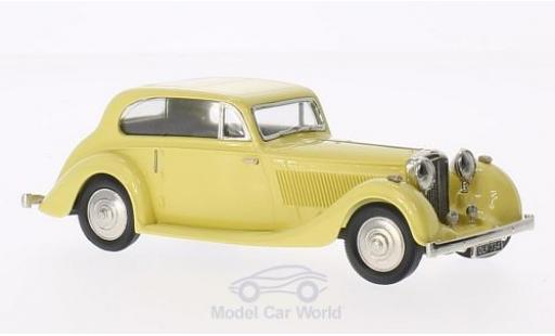 Bentley 4.5 1/43 Brooklin 4 1/4 Litre Barker jaune 1936 miniature