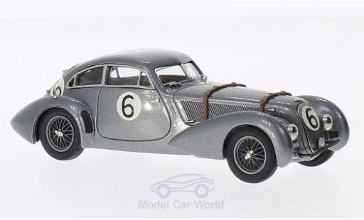 Bentley Embiricos 1/43 Brooklin metallic-dunkelgrise No.6 24h Le Mans 1949 miniature