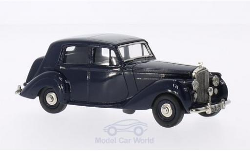 Bentley Mark 6 1/43 Brooklin MK VI 4-door Sallon bleue 1951 miniature