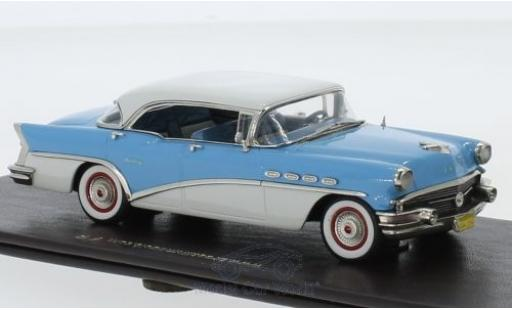 Buick Century 1/43 Brooklin 4-Door Hardtop bleue/blanche 1956 miniature
