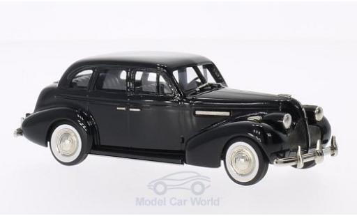 Buick Century 1/43 Brooklin 4-door Sedan M-61 noire 1939 miniature