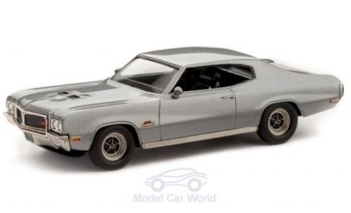 Buick GS 1/43 Brooklin 455 Hardtop Coupe metallise grise 1970 miniature