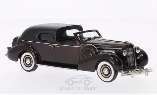 Buick Limited 1/43 Brooklin Town Car by Derham metallic-dunkelmarron/noire 1938 miniature
