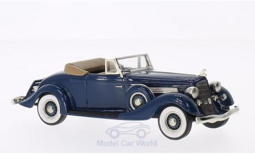 Buick M60 1/43 Brooklin Convertible Coupe bleue 1934 miniature