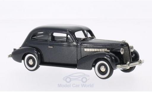 Buick Special 1/43 Brooklin 2-DR Plain Back 4-door Sedan M-44 metallic-dunkelgrise 1937 miniature