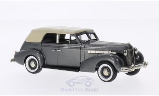 Buick Special 1/43 Brooklin 4-door Phaeton M-40C metallic-dunkelgrise/beige 1938 miniature