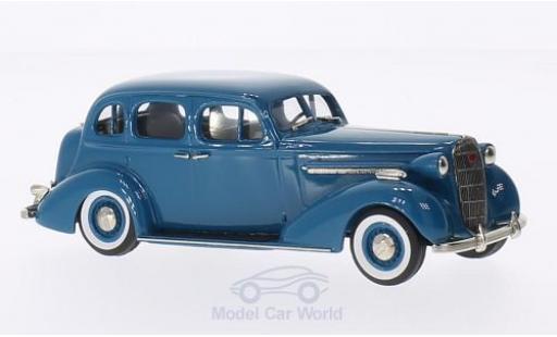 Buick Special 1/43 Brooklin 4-door Trunk Sedan M-41 bleue 1936 miniature