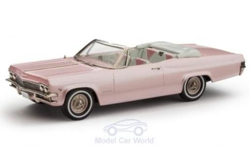 Chevrolet Impala 1/43 Brooklin Convertible metallise rose 1965 miniature