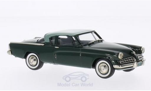 Studebaker Commander 1/43 Brooklin Coupe verte/verte 1954 miniature