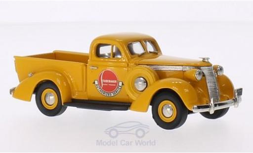 Studebaker Coupe Express 1/43 Brooklin Pick-Up jaune Authorized Service 1937 miniature